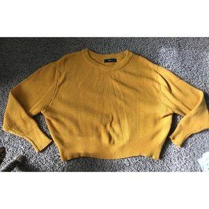 Zara Woman Mustard Sweater